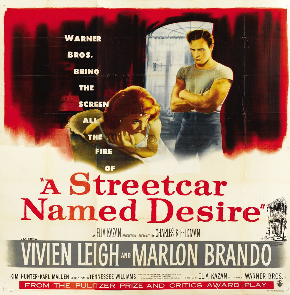 the enhancing effect of elia kazans a streetcar named desire on the original play Have you ever wondered why blanche's sexual assault is toned down in elia kazan's film version of a streetcar named desire (1951) from tennessee williams' original play, reduced from an obvious attack to an insinuation.