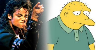 "The King of Pop is a guest voice on The Simpsons in the episode ""Stark Raving Dad"""
