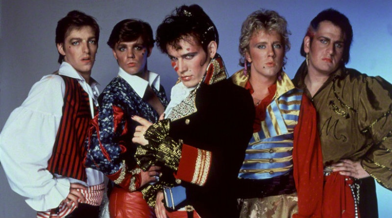 "New Romantics Adam and The Ants hits No. 1 in the U.K with ""Prince Charming"" in 1981"
