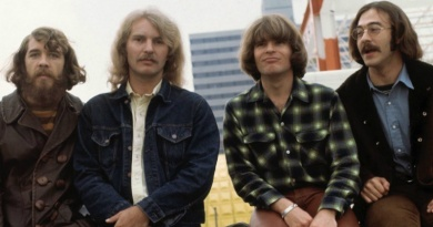 "Creedence Clearwater Revival scored their only U.K No.1 single with ""Bad Moon Rising"""
