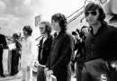 The Doors play their first European tour concert at the Roundhouse in London