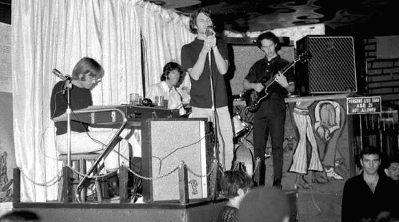 The Doors step into a recording studio for the first time