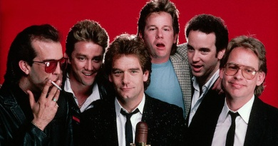 """Huey Lewis and The News reaches No.1 in the Hot 100 charts with """"Stuck With You"""" in 1986"""