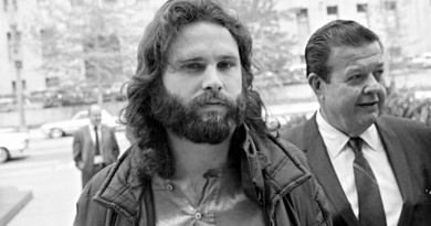 Jim Morrison is sentenced to 6 months of hard labor on this day in 1970