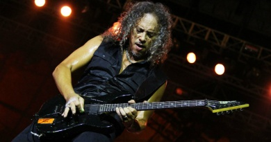 Metallica's Kirk Hammett turns 57 today