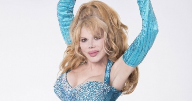The Spanish born entertainer Charo turns 70