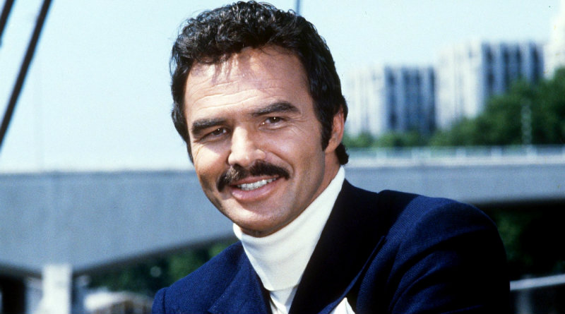 IMG BURT REYNOLDS, American Actor, Director and Producer