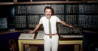 The Electronic Pop music genius Giorgio Moroder turns 79 today