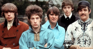 """Procol Harum's classic """"A Whiter Shade Of Pale"""" enters the UK singles charts for the first time in 1967"""