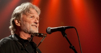 The influential songwriter, singer and actor Kris Kristofferson turns 83 today