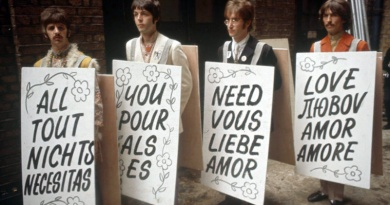 "The Beatles achieve another milestone in 1967 with the love anthem ""All You Need Is Love"" becoming their 12th UK No.1 single"