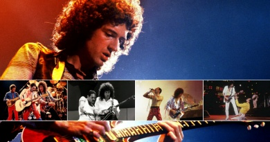 Celebrate the birthday of Brian May revisiting The Top 10 Greatest Queen Live Performances