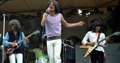 In 1969 the Rolling Stones paid tribute to the fallen Brian Jones in a free concert at Hyde Park