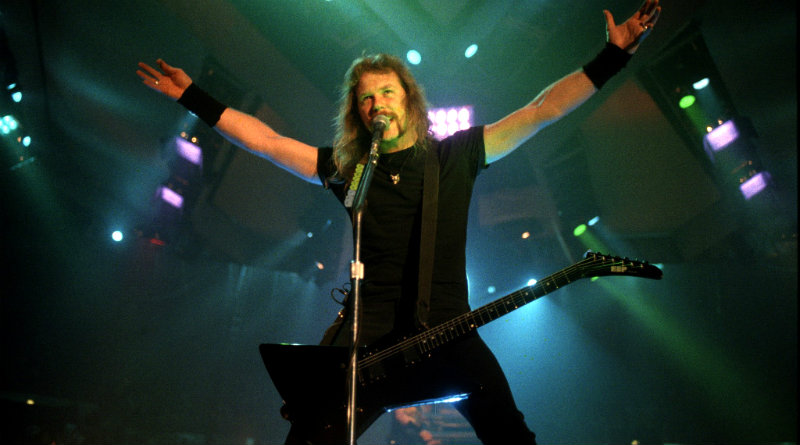 the top 20 metallica songs on james hetfield 55th birthday - Metallica Christmas Songs