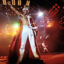 The last concert of Queen with Freddie Mercury