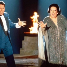 "Montserrat Caballé and Freddie Mercury: When Rock and Opera blend majestically and perfectly in ""Barcelona"""