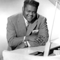 """Fats Domino, American Rock N'Roll singer, musician and pioneer, born in New Orleans, Louisiana 26/2/1928 (d. 2017) notable songs """"Blueberry Hill"""", """"Blue Monday"""", """"Ain't That A Shame"""""""