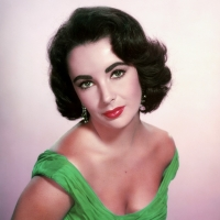 """Elizabeth Taylor, English-American actress born in London, England 27/2/1932 (d. 2011) appears on """"Who's Afraid of Virginia Woolf?"""", """"Giant"""", """"Cleopatra"""""""
