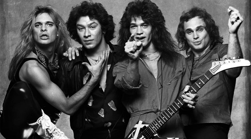 """Van Halen jump to No.1 at the U.S Hot 100 in 1984 with """"Jump"""""""