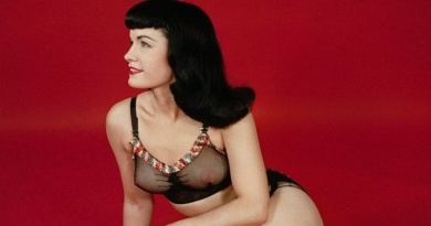 "The timeless ""Queen of Pinups"" Bettie Page"