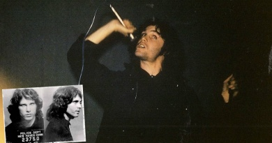 On this day in 1967 Jim Morrison gets arrested on stage in New Haven