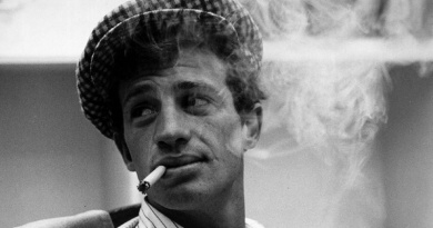The iconic French actor Jean Paul-Belmondo turns 87